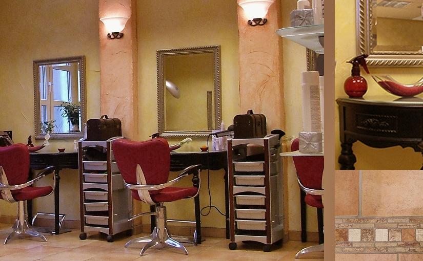 Innenraumkonzept für einen Wellness- Salon