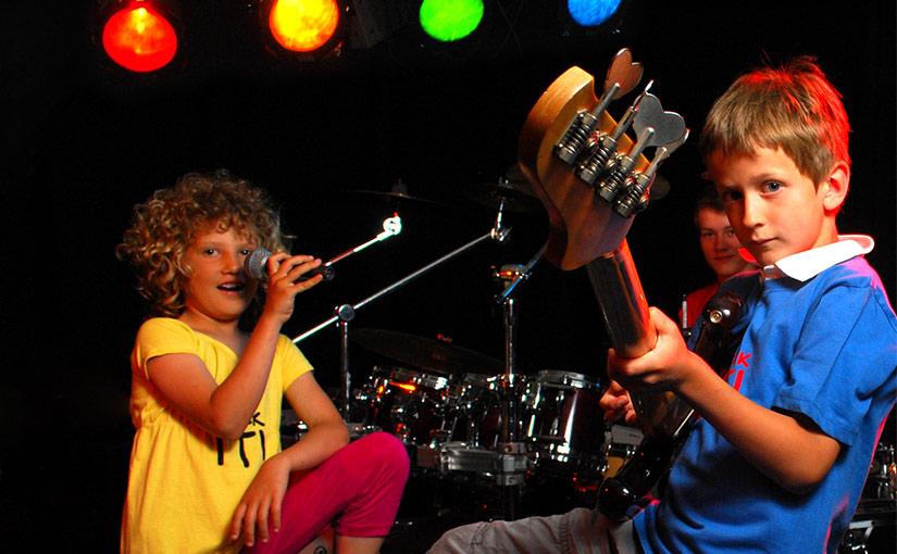 Firmenauftritt für die Rock IT Musikschule
