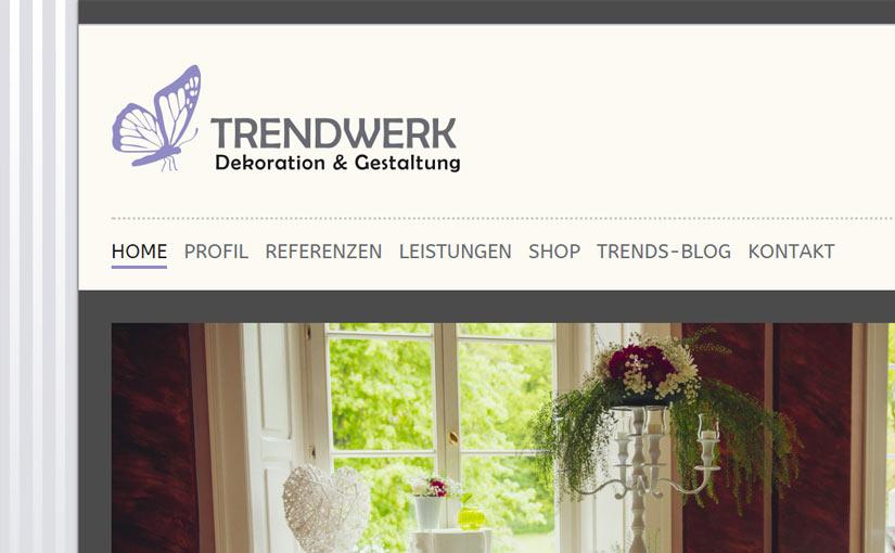 Blog Webseite mit Unternehmenspräsentation